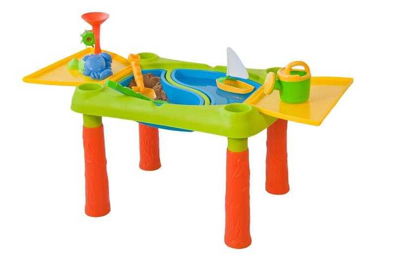 Plastový hrací stůl - rozkládací, velký