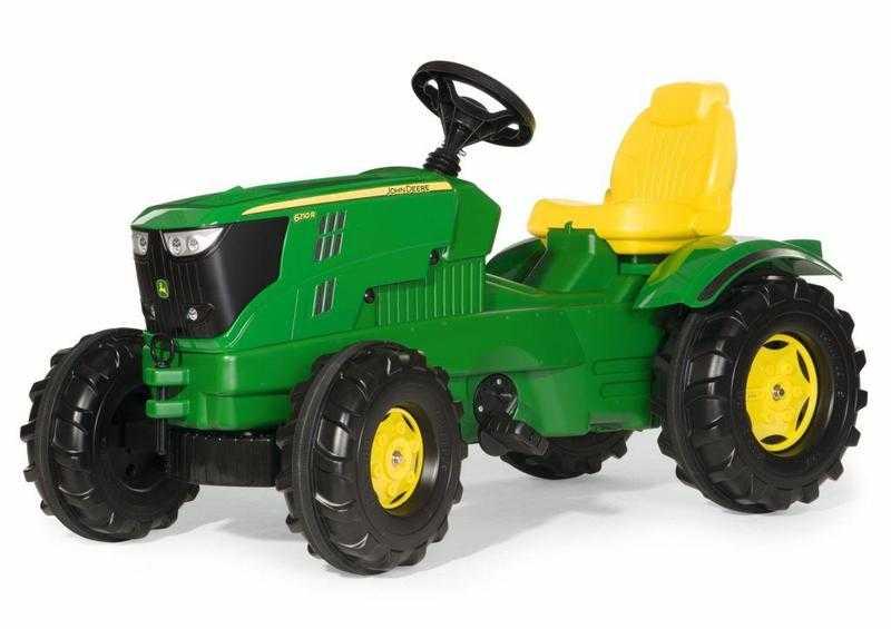 RollyToys Šlapací traktor Farmtrac John Deere 6210