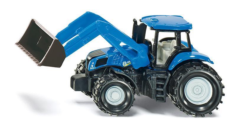 SIKU Blister - Traktor New Holland s předním nakladačem