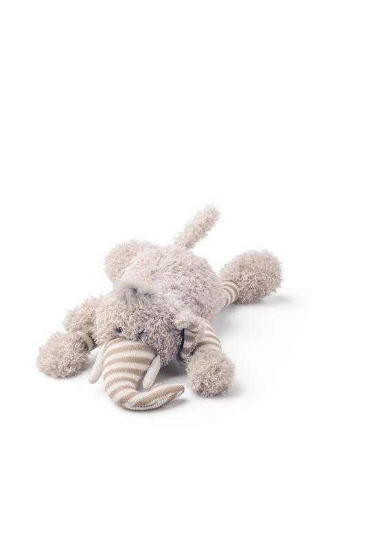 Plyšový slon Elvis, ležící