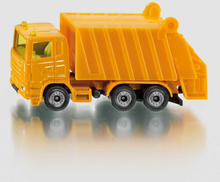 Kovový model auta - SIKU Blister - Vozidlo na odvoz odpadu
