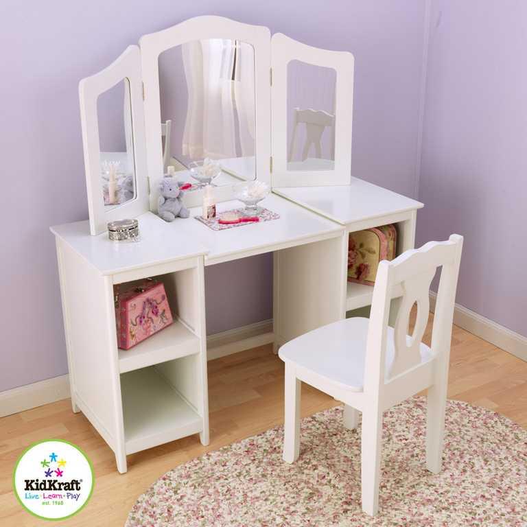 KidKraft kosmetický stolek s židličkou Deluxe