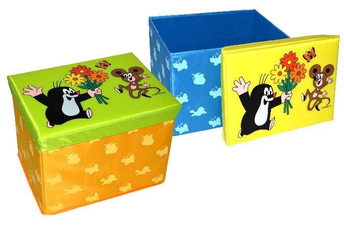 Box na hračky 40cm Krtek