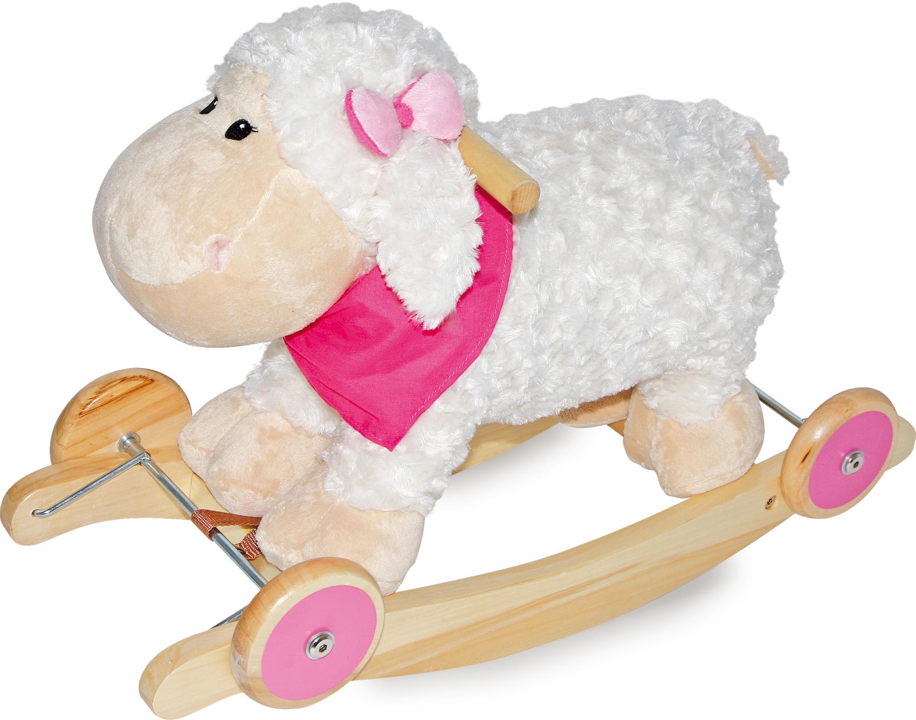 Dřevěné hračky - Houpací ovečka