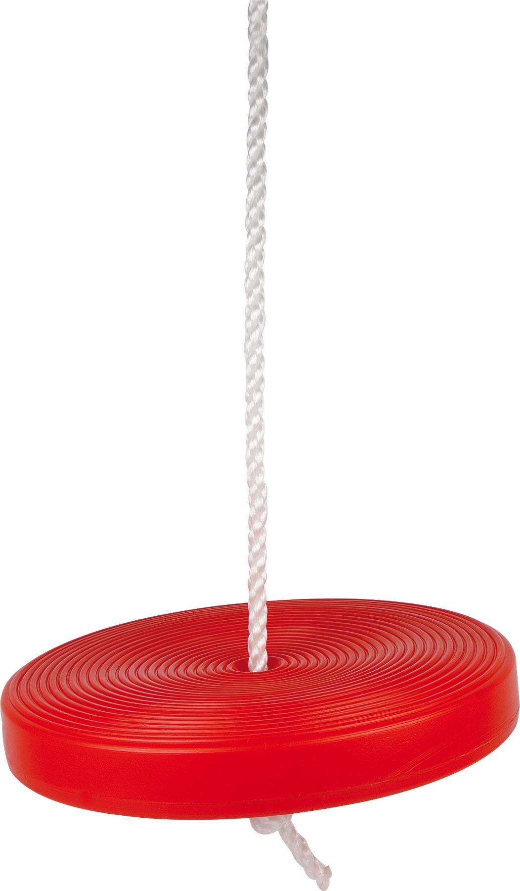 Plastová houpačka Swift červená
