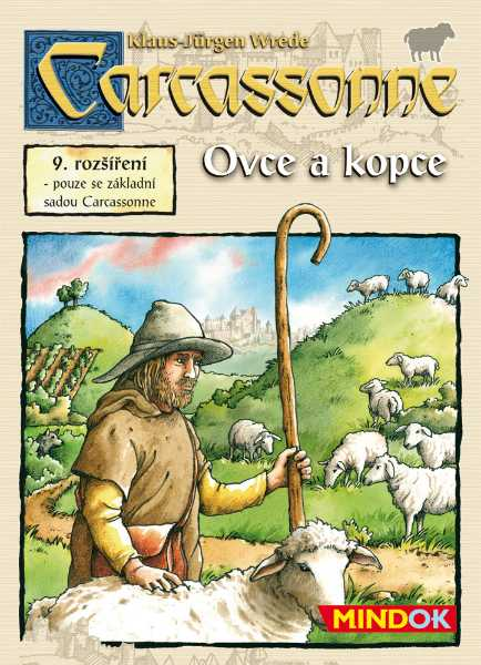 Carcassonne rozšíření 9: Ovce a kopce