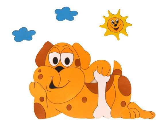 Dětská lampička - Pes