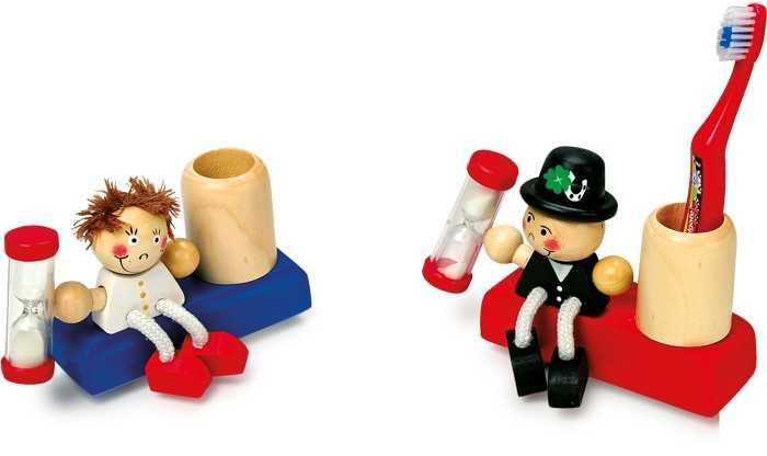 Dřevěné hračky - Přesýpací hodiny Šťastný pár