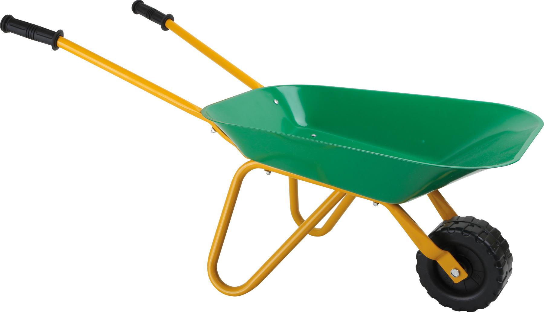 Zahradní kolečka zelená