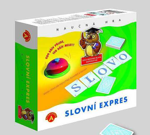 Dětské hry - Slovní expres
