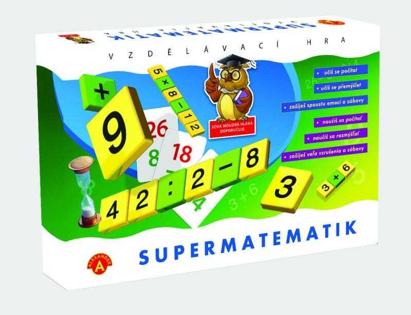 Dětské hry - Supermatematik