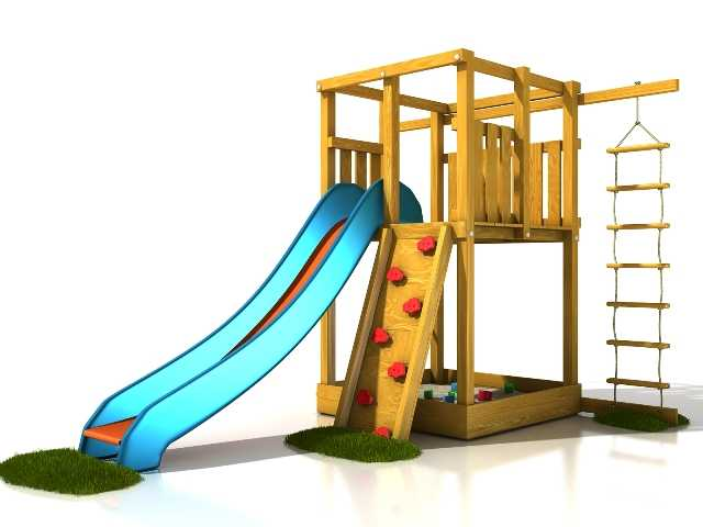 Dřevěné dětské hřiště - Stavebnice hřiště Anička