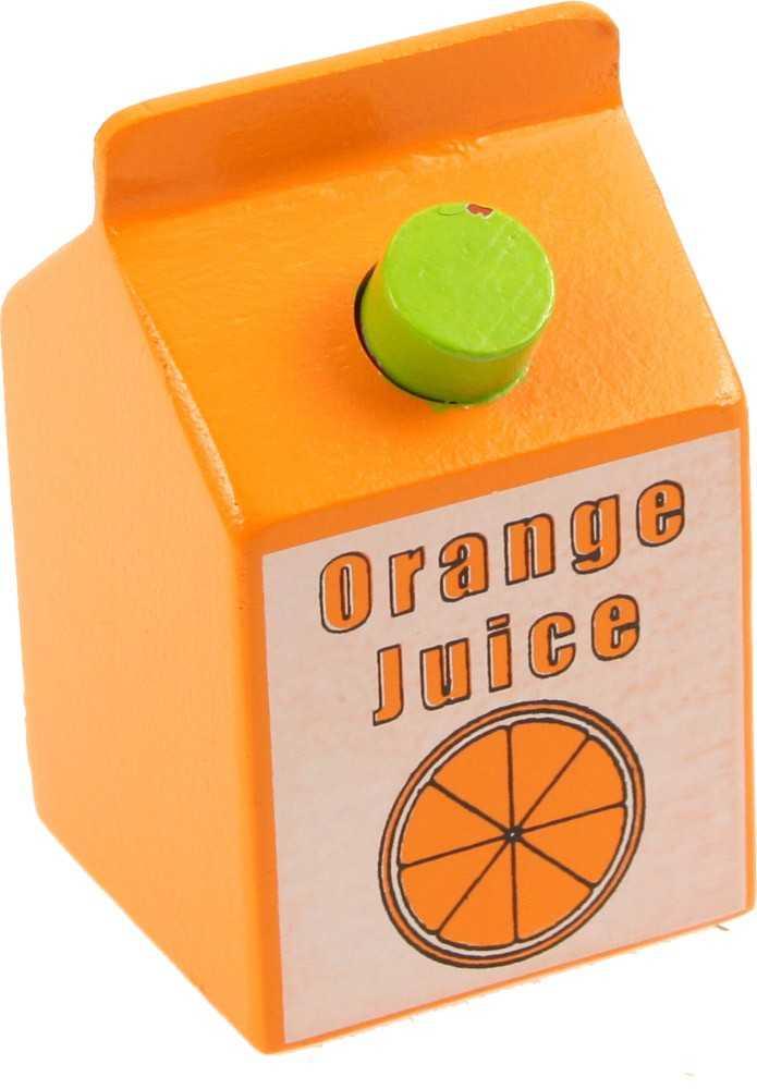 Bigjigs Toys dřevěné potraviny - Pomerančový juice 1ks