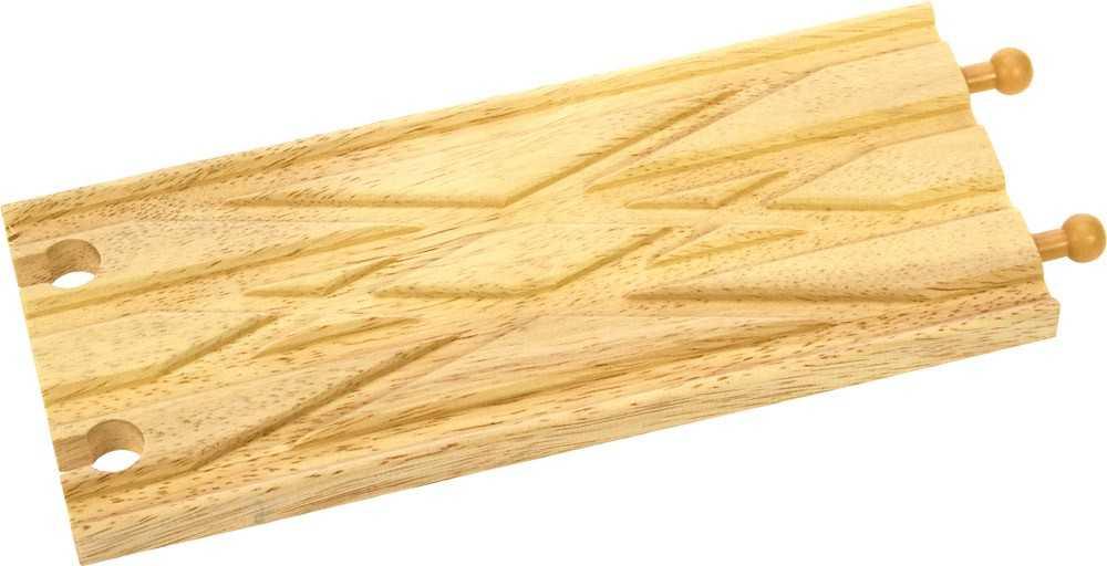 Dřevěné koleje vláčkodráhy Bigjigs - Křížení tratí