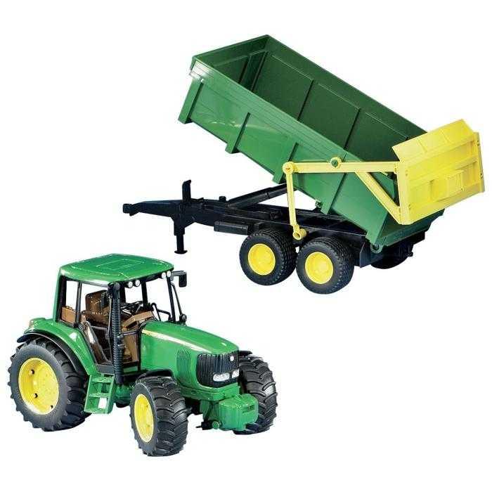 Bruder - Traktor JOHN DEERE 6920 + sklápěcí valník