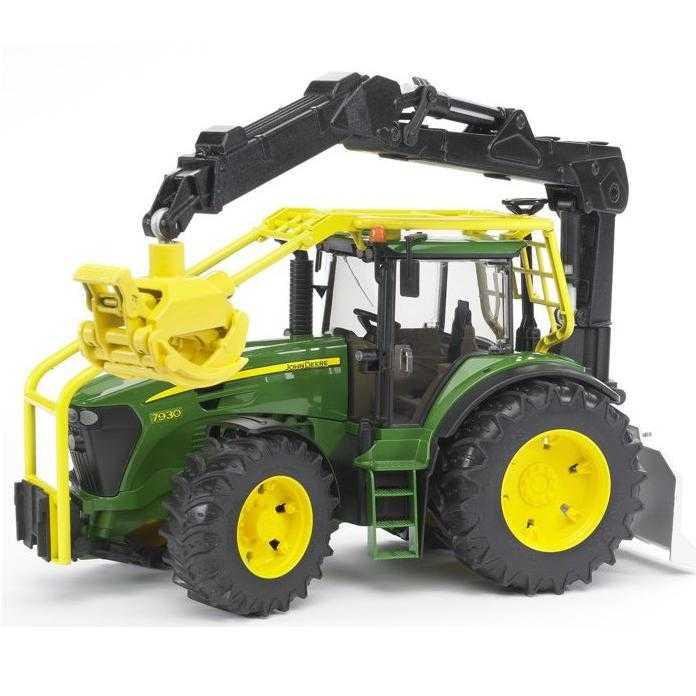 Bruder - Lesní traktor JOHN DEERE