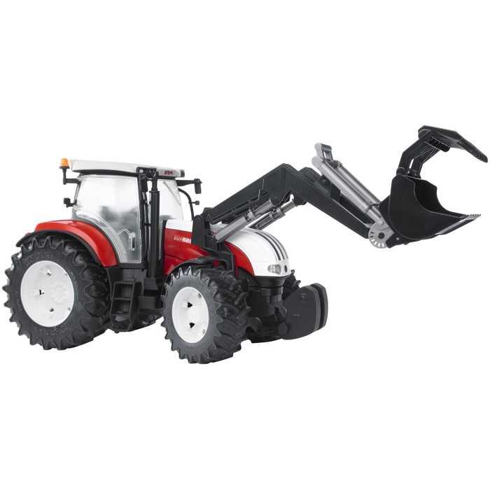 Bruder - Traktor STEYR CVT 6230 + čelní nakladač