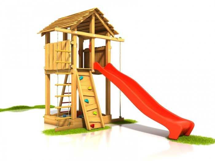 Dřevěné dětské hřiště - Stavebnice hřiště Bimbo
