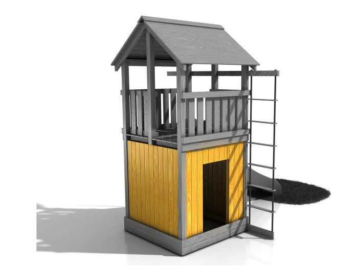 Dřevěné dětské hřiště - Stavebnice - Modul Chýše