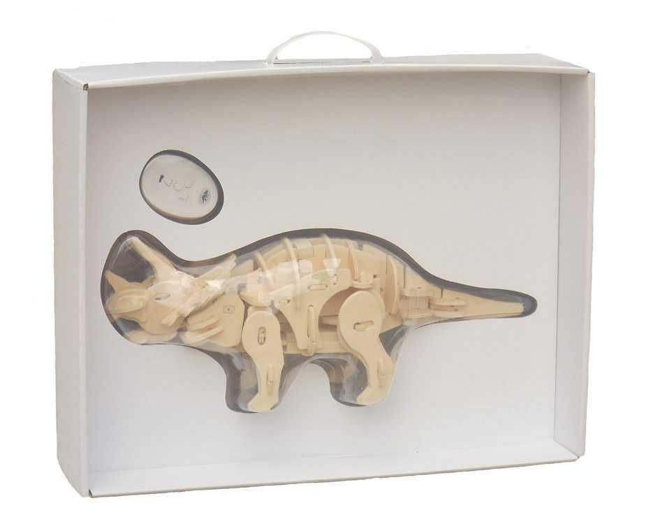 Robotická hračka dinosaurus TRICERATOPS - Sestavený!