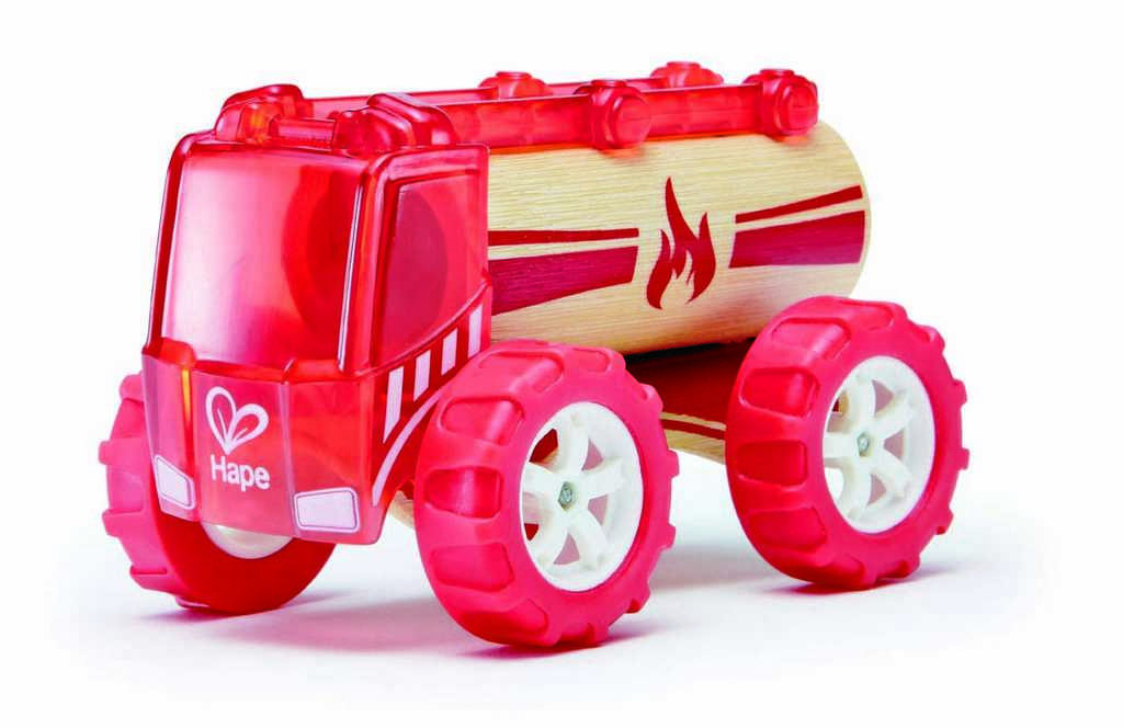 HAPE dřevěné hasičské nákladní auto