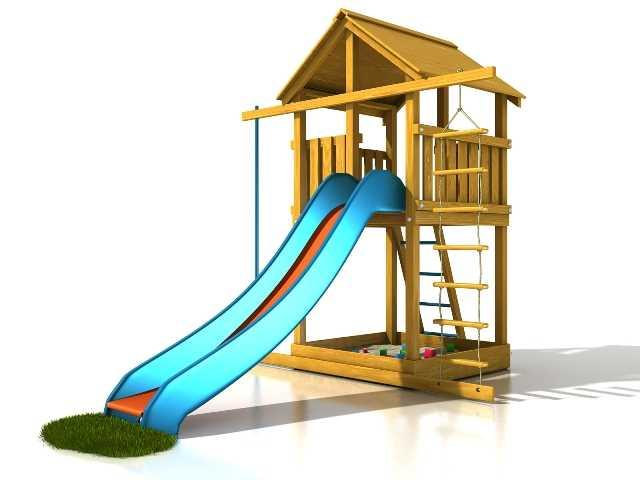 Dřevěné dětské hřiště - Stavebnice hřiště Eliška