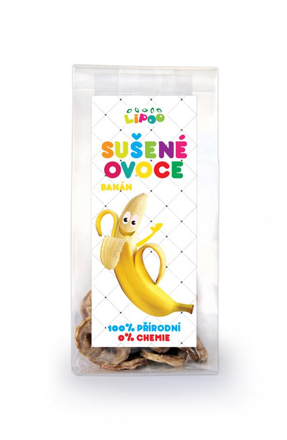 Sušené ovoce - Banán