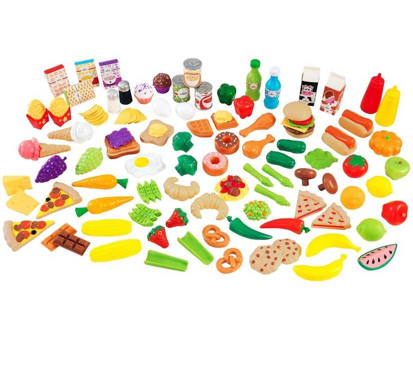 KidKraft Hrací set potravin - 115 doplňků
