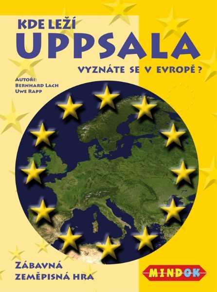 Vzdělávací rodinné hry - Kde leží Uppsala