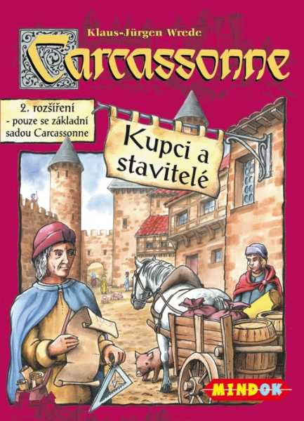 Carcassonne rozšíření 2: Kupci a stavitelé