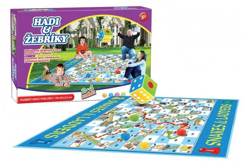 Rodinné hry - Hadi a žebříky - venkovní