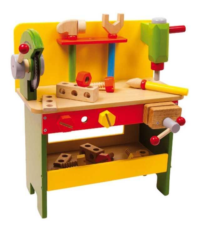 Dřevěné hračky - Ponk pracovní stůl Christian