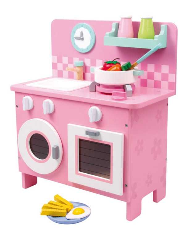 Dřevěná dětská kuchyňka Rosali