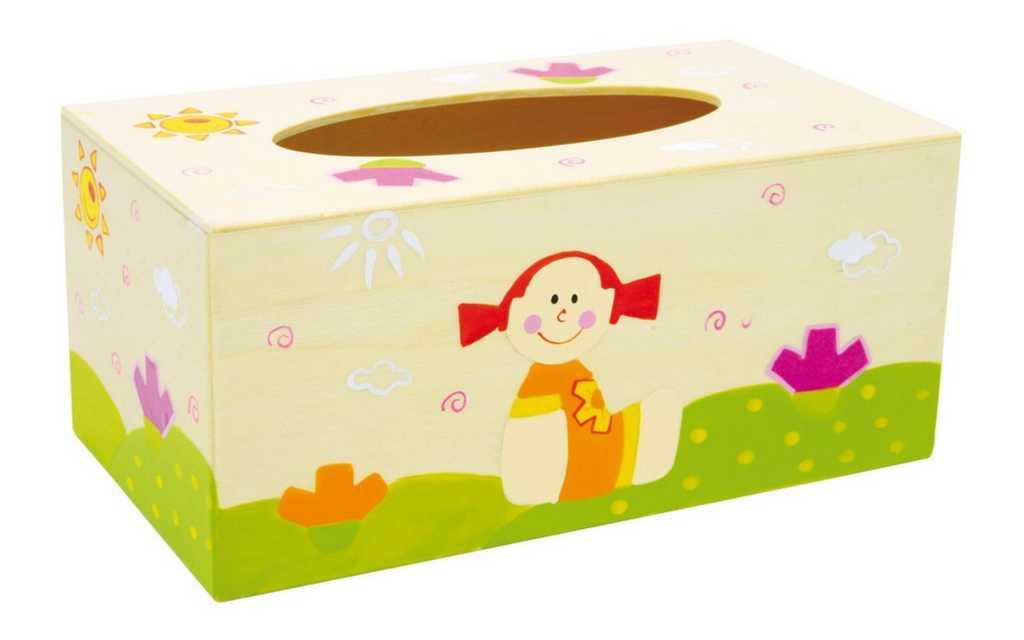 Dětské dekorace - Krabička na papírové kapesníky