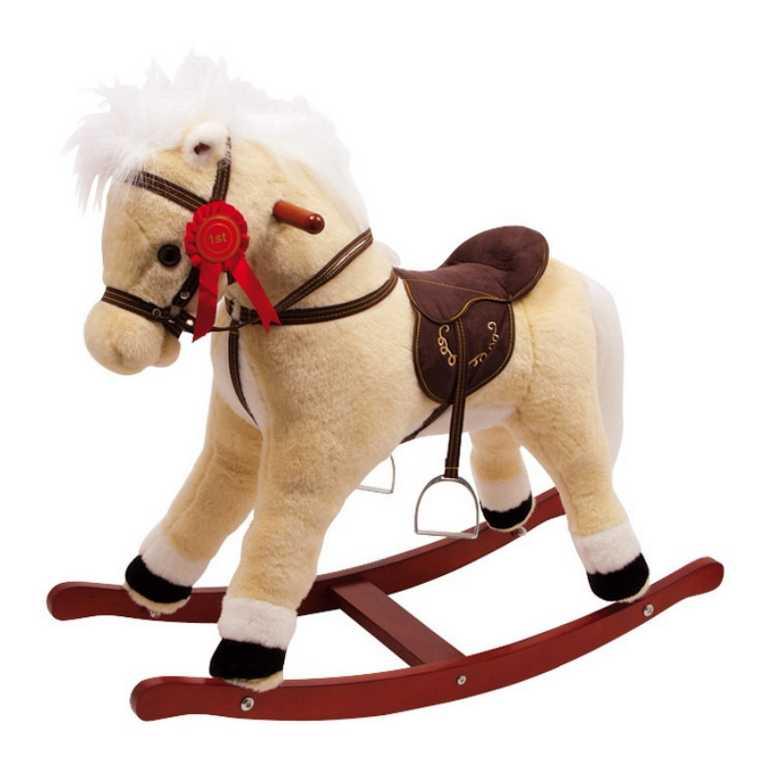 Dřevěný houpací kůň se zvuky Melissa