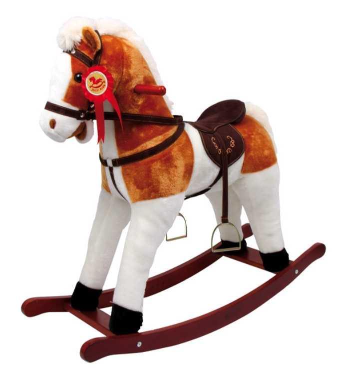 Dřevěný houpací kůň se zvuky Calypso
