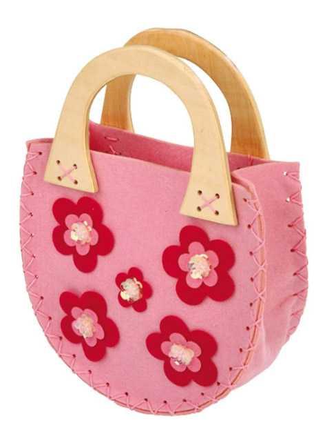 Dětská filcová kabelka Lili