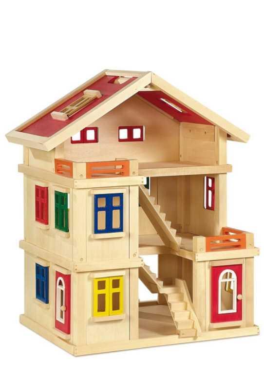 Domeček pro panenky Deluxe