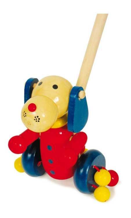 Tahací hračky - Jezdík pejsek