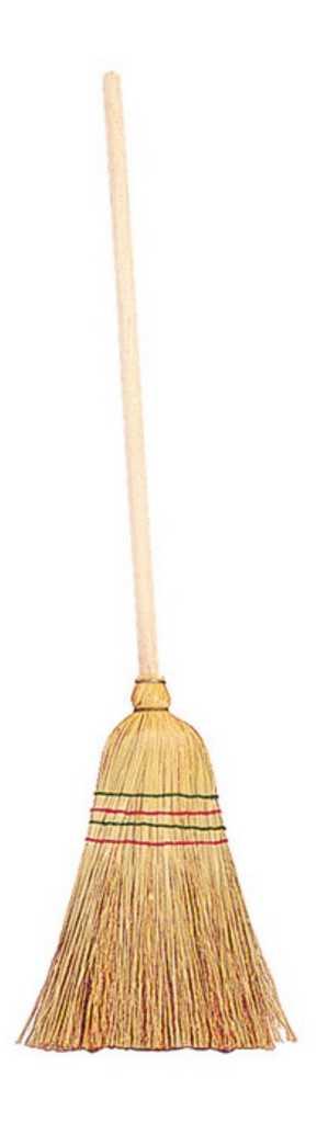 Venkovní hračky - Dětské koště ze slámy