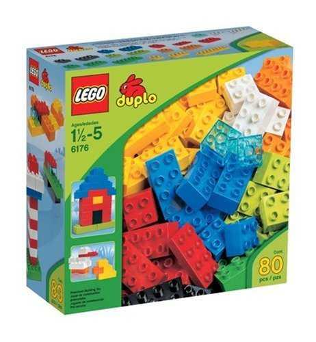 LEGO DUPLO 6176 Základní kostky - sada Deluxe