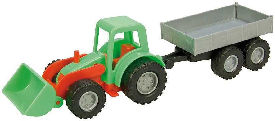Mini Compact traktor s přívěsem