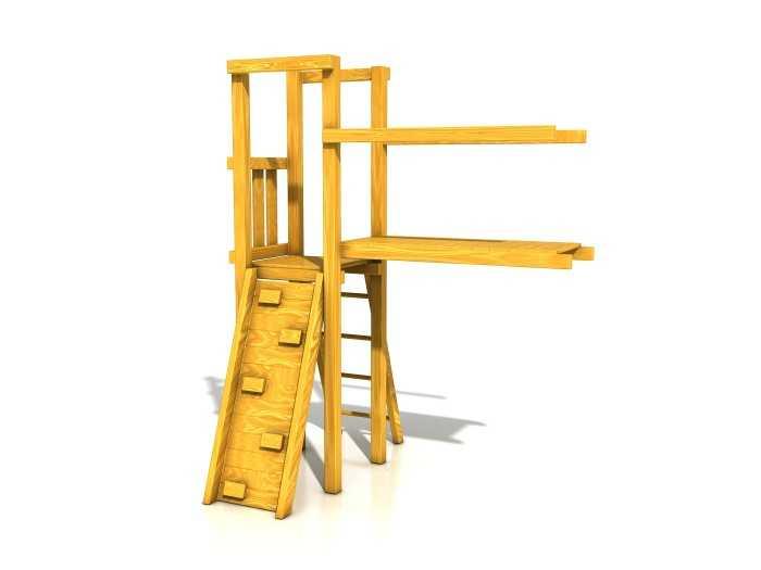 Dřevěné dětské hřiště - Stavebnice - Modul Lávka