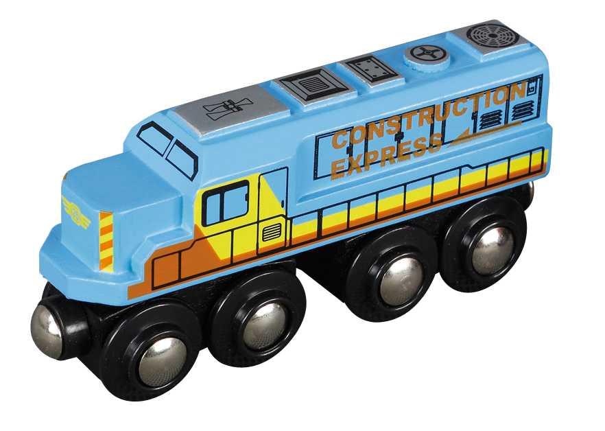 Vláček dřevěné vláčkodráhy Maxim - Lokomotiva - nákladní