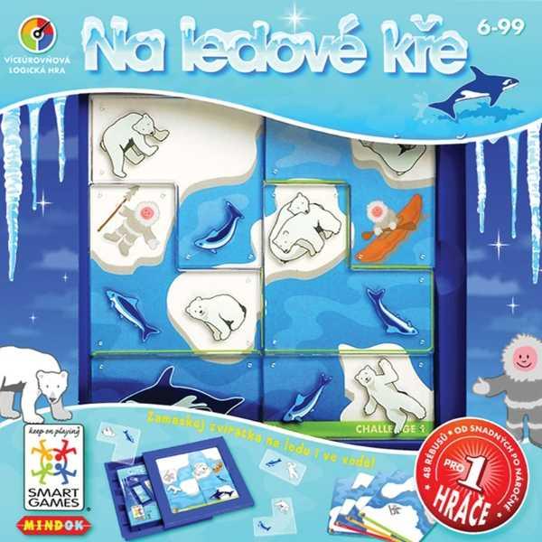 Dětské hlavolamové smart hry - Na ledové kře
