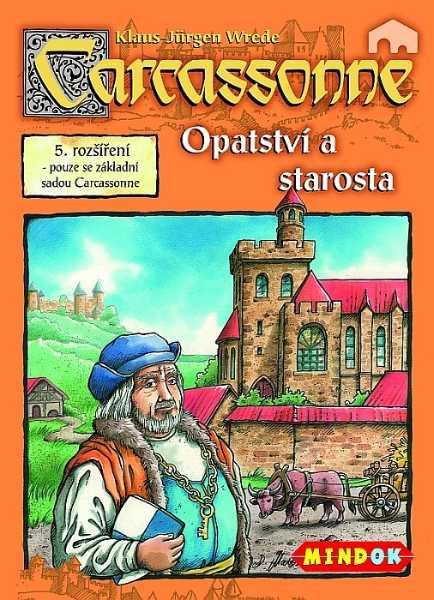 Carcassonne rozšíření 5: Opatství a starosta