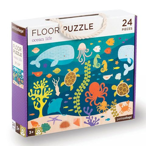 Petitcollage Podlahové puzzle život oceánů