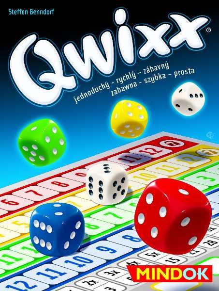 Rodinné párty hry - Qwixx