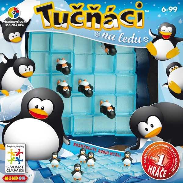 Dětské hlavolamové smart hry - Tučňáci na ledu