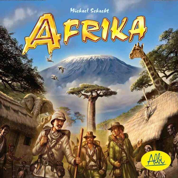 Rodinné deskové hry - Afrika
